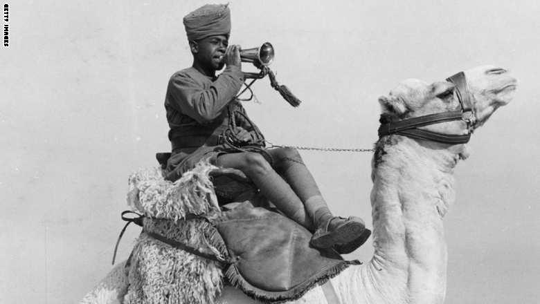 Camel Corps Bugler