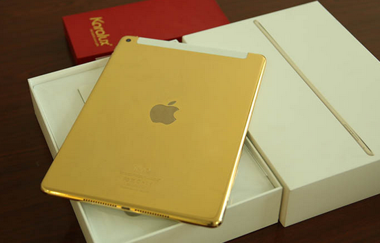 24K-gold-plated-Apple-iPad-Air-2-is-available-from-Karalux