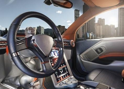 ننشر صور سيارة رينسبيد ذاتية القيادة