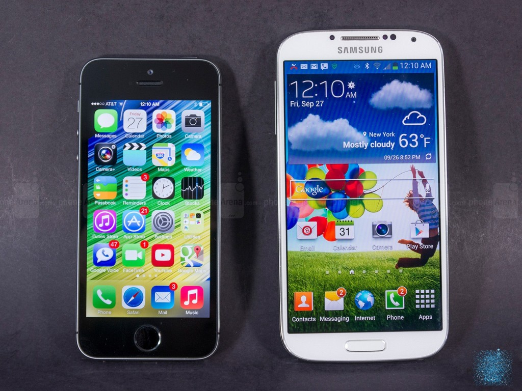 Apple-iPhone-5s-vs-Samsung-Galaxy-S5