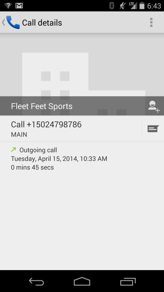 Current-Android-dialer