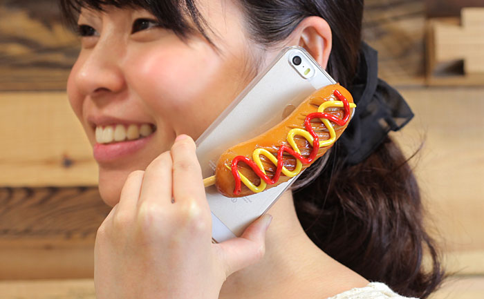 Sausage-iPhone-55S-case