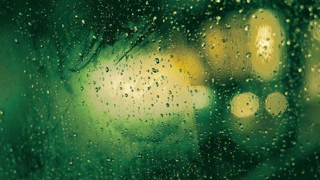 gotas-cristal-la-lluvia-gota-macro-textura-color-verde-690618
