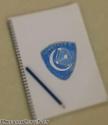 رسم شعار الهلال