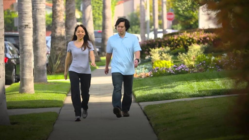 المشي من أجل الصحة