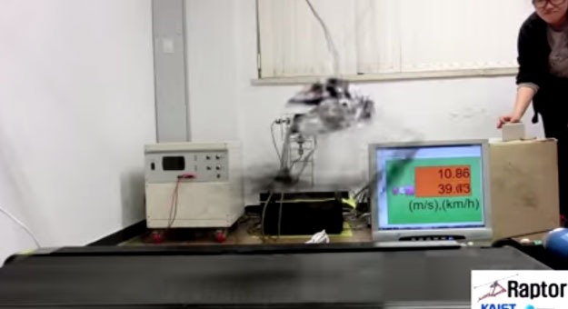 شاهد بالفيديو : كوريا تنتج اسرع روبوت في العالم