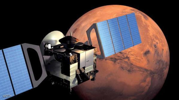 رصد عاصفة من اللهب على كوكب المريخ