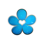 050133-blue-chrome-rain-icon-natural-wonders-flower4