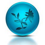 050385-blue-metallic-orb-icon-natural-wonders-flower8