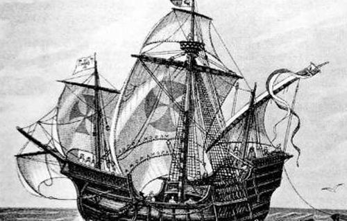 العثور على سفينة كريستوفر كولومبس