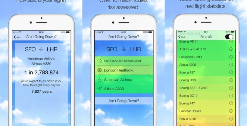 تطبيق لهاتفك يخبرك لو كانت طيارتك معرضة للسقوط