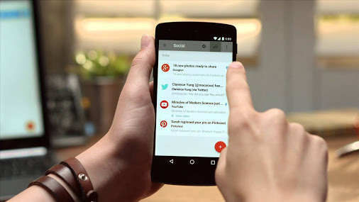 شاهد كيف يعمل تطبيق جوجل الجديد Inbox