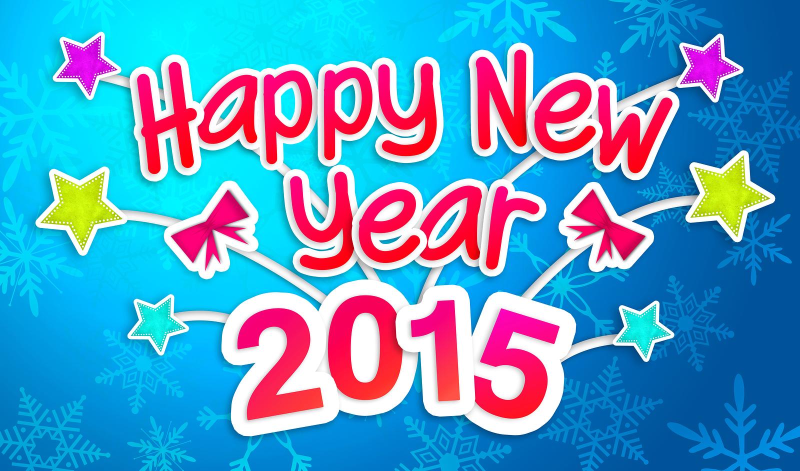 خلفيات للفيس بوك للتهنئة بالعام الجديد 2015