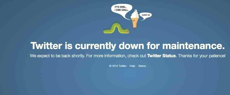 تويتر يعود للعمل بعد توقف قرابة ساعة