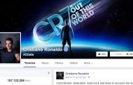 يتصدرها كريستيانو رونالدو : قائمة الرياضيين الأكثر شعبية على فيس بوك