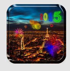 تطبيق خلفيات متحركة للعام الجديد 2015 لهاتفك الاندرويد