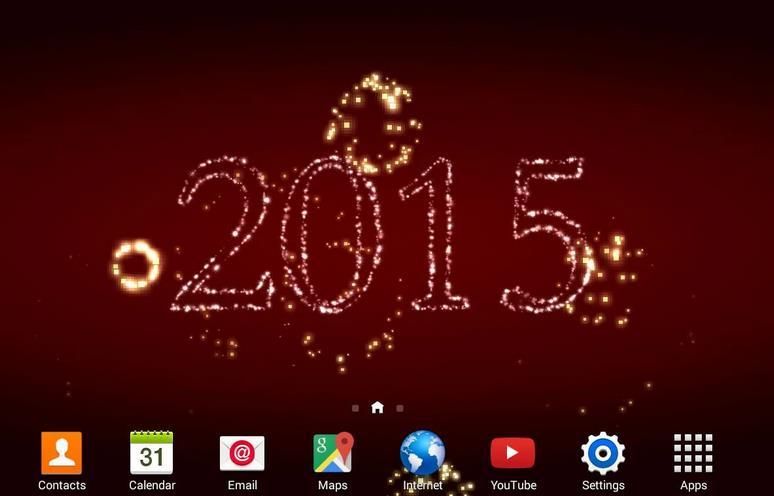 حول هاتفك الاندرويد الى منصة العاب نارية للاحتفال بالعام الجديد 2015