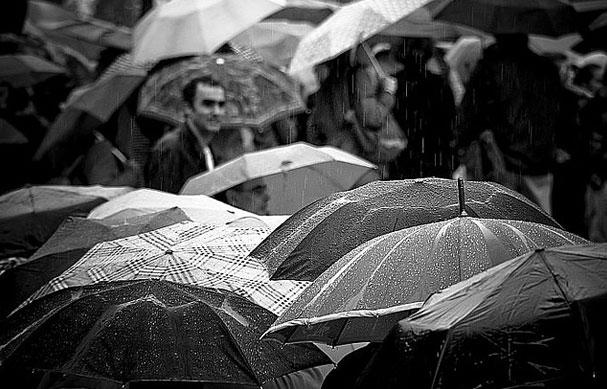 أمطار حول العالم