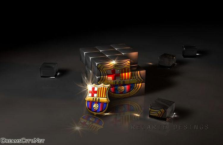 Barcelona logo 3d01