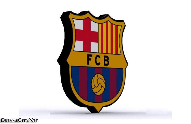Barcelona logo 3d02