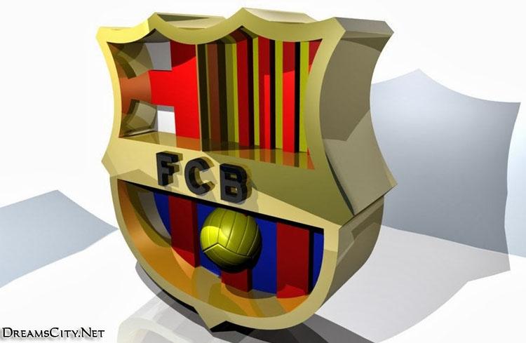Barcelona logo 3d03