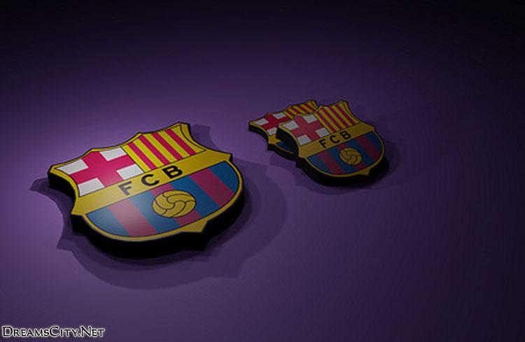 Barcelona logo 3d04