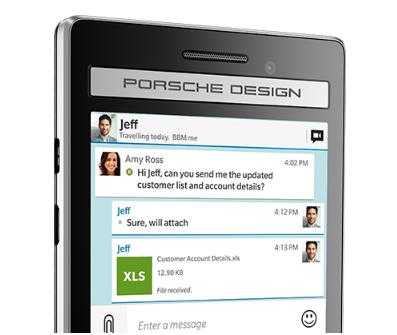ننشر صور هاتف بلاك بيري الجديد Porsche Design