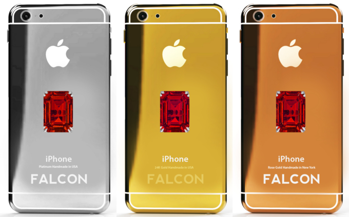 هذا الايفون 6 الذهبي سعره 48 مليون دولار