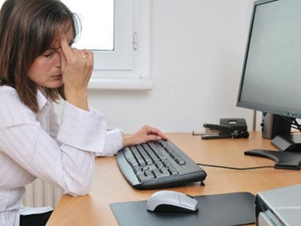 متلازمة الرؤية الكمبيوترية تلازم مستخدمي الكمبيوتر