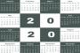 تقويم 2020 – calendar 2020