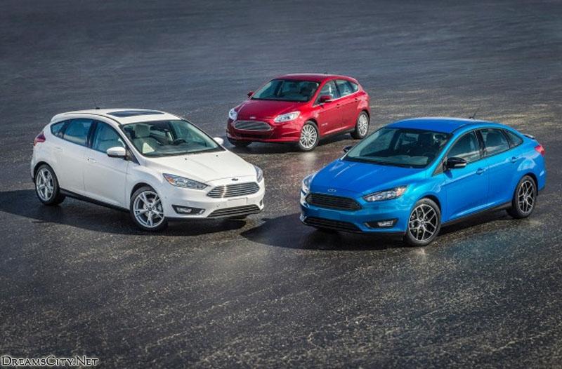 سيارات Ford Focus 2015 كل الفئات التي تم الكشف عنها