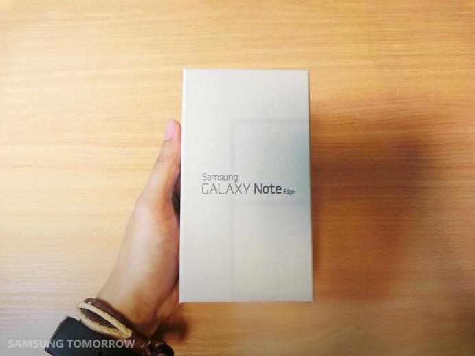 سامسونج تقدم فيديو فتح الصندوق لهاتفها الجديد جالاكسي نوت ايدج