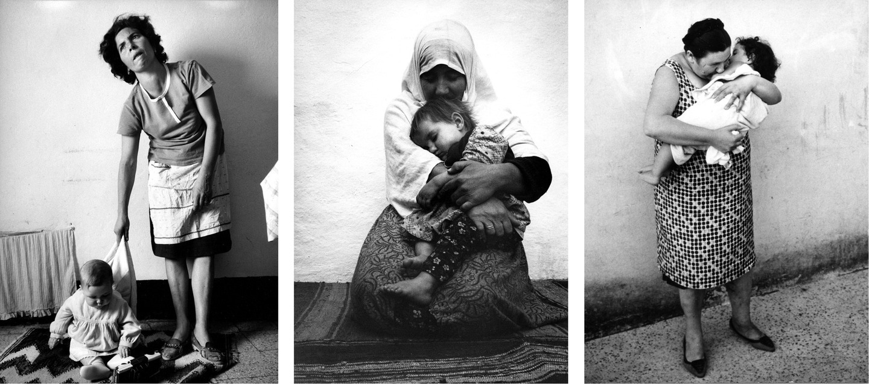 صور أمومة .. أبيض وأسود