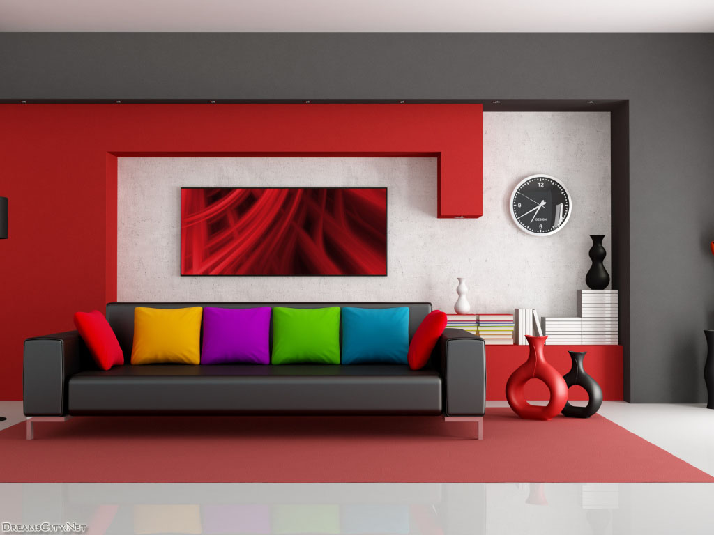 House decoration in red ‫(30519180)‬ ‫‬