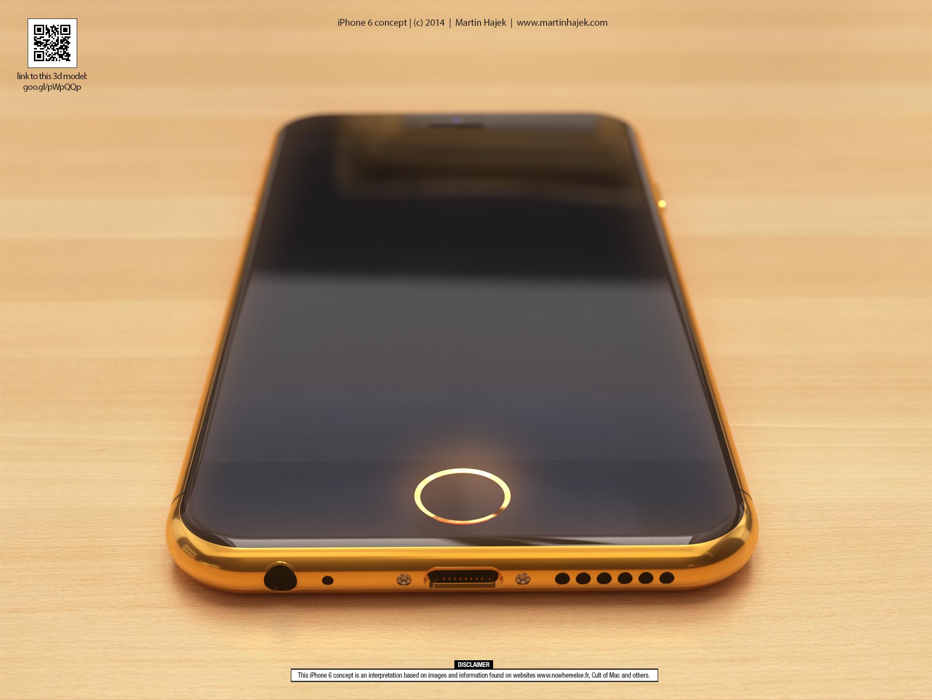 بالصور : الايفون 6 في حلة ذهبية