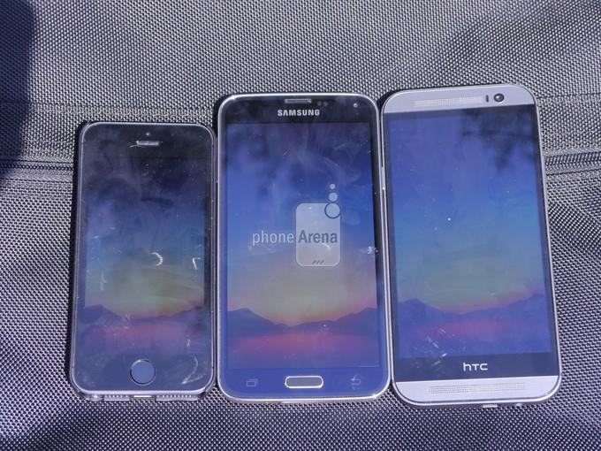 هاتف سامسونج جالاكسي اس 5 يتفوق في اختبار (أنقى شاشة)