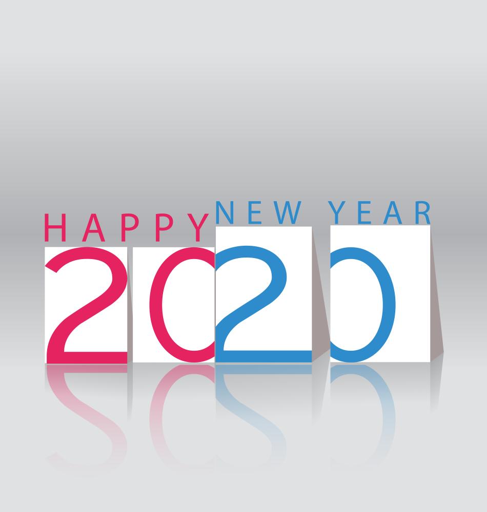 صور شعارات 2020 وعام سعيد