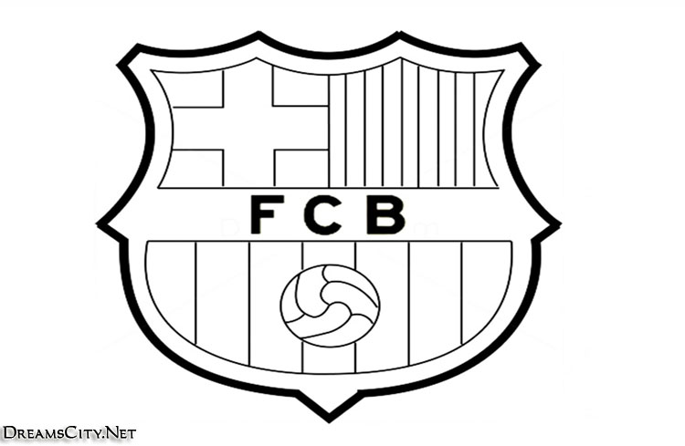 barcelona logo black and white02