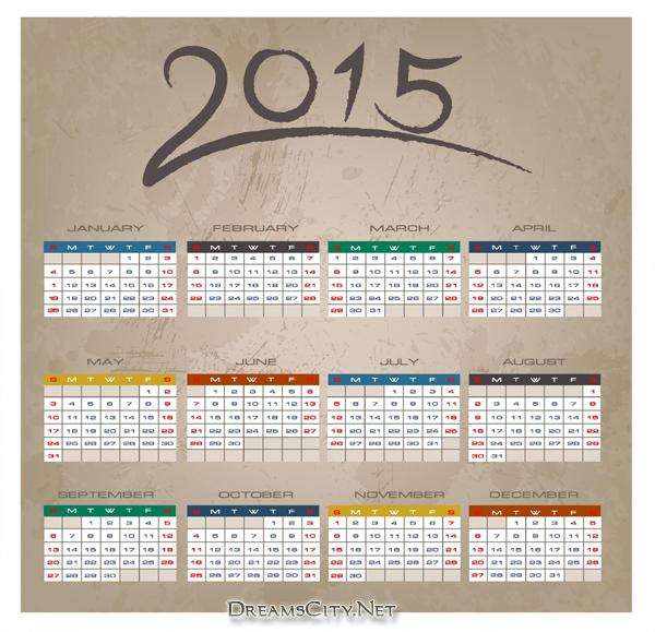تقويم 2015 | calendar 2015