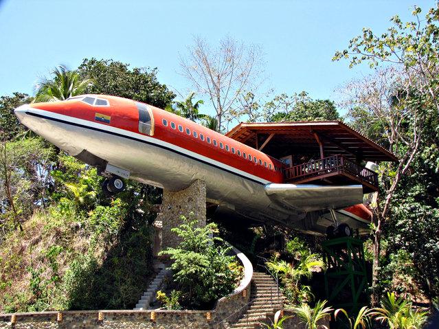 بالصور : فندق داخل طائرة