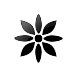 flowers icon black ‫(29601676)‬ ‫‬