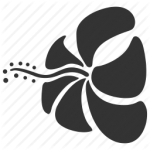 flowers icon black ‫(29601681)‬ ‫‬