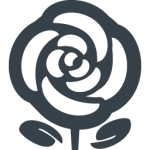 flowers icon black ‫(29601683)‬ ‫‬
