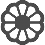 flowers icon black ‫(29601684)‬ ‫‬