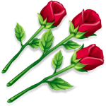 flowers icon red ‫(1)‬ ‫‬
