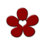 flowers icon red ‫(29601673)‬ ‫‬