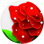 flowers icon red ‫(29601674)‬ ‫‬