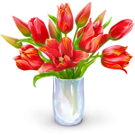 flowers icon red ‫(29601675)‬ ‫‬
