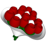 flowers icon red ‫(29601676)‬ ‫‬