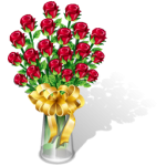 flowers icon red ‫(29601677)‬ ‫‬